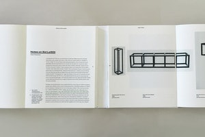 Sol LeWitt Exhibition Book
